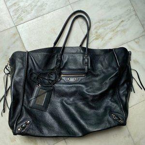 Balenciaga Papier Zip-Around A4 Tote - Black with